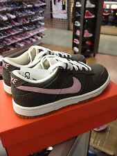 NIKE WOMENS DUNK LOW 308608 063 IRONSTONE / BUBBLEGUM WOMEN US SZ 6.5