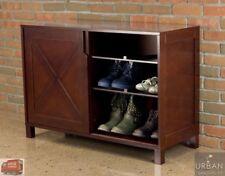 Shoe Cabinet Storage Organizer Rack Modern Wood Shelf Closet Dresser Furniture