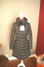 Moncler Flamette Giubbotto Down Coat Jacket Charcoal Gray Hood size 3  $1455.0
