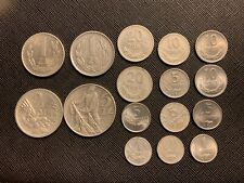 Poland coins 5,2,1 zloty, 20,10,5,1 grosz lot