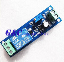 2PCS 12V Delay Timer Switch Adjustable Relay module 0-10 Second NE555 M87