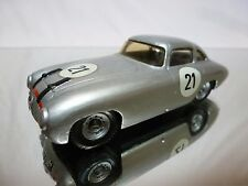 METAL KIT (built) MERCEDES BENZ 300 SL GULL WING 1955 - SILVER 1:43 - GOOD