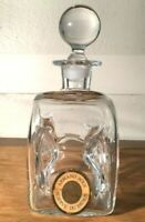 Vintage Armand Roux Reserve Du Patron Bottle Decanter and Lid Stopper, Very Rare