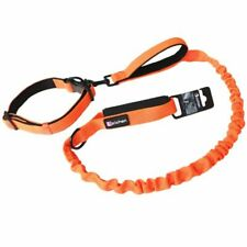 Dog Leash Collar Reflective Buffer Elastic Adjustable Foam Handle Traction Rope