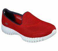 Red Go Walk Skechers Shoes Smart Women's Slip On Lightweight Go Sport Mesh 16708