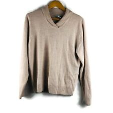 The Tog Shop Womens Sweater Size Large Beige Pullover
