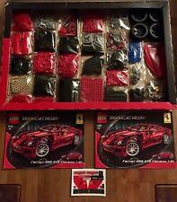 Lego Technic Technik 8145 599 GTB Ferrari. 100% Komplett