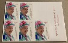 Australia 2014 Queens Birthday Sheetlet $2.60 .Mint Never Hinged.