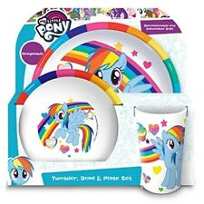 My Little Pony Tumbler, Bowl, Plate Set, Multi, Set Of 3