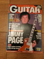 GUITAR MAGAZINE VOL. 8 NO.7 (APRIL 1998) JIMMY PAGE ERIC CLAPTON VAN HALEN