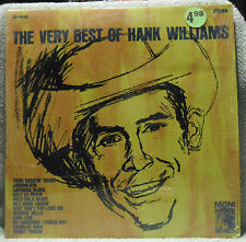 The Very Best Of Hank Williams LP - NM in Shrink MGM SE 4168 1963