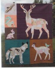 Forest Abstractions Quilt- foundation paper pieced quilt PATTERN - Violet Craft