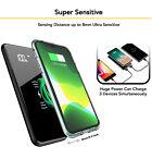 Qi Wireless Power Bank 900000mAh Backup Fast Portable Charger External Battery