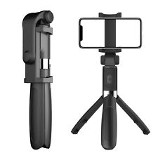Selfie Tripod Phone Holder Stick Monopod + Bluetooth Wireless Remote Shutter