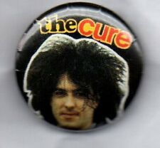 THE CURE Robert Smith  BUTTON BADGE ENGLISH ROCK BAND - GOTH  80s 90s PIN 25mm
