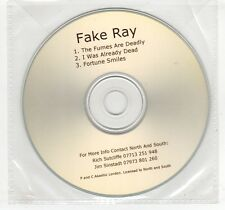 (GN847) Fake Ray, The Fumes Are Deadly - DJ CD