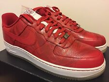 Nike Air Force 1 Premium '08 BOOBA Varsity Red /White Sz 12 CLOT KRINK DS RARE
