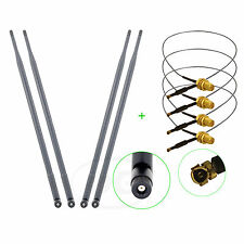 4 x 9dBi Dual Band Antenna Mod Kit for Netgear DGND3700 V1 and V2 ROUTER