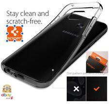 Spigen 556CS20033 Custodia per Samsung Galaxy S7 Edge - Nera