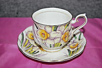 Royal Albert Daffodil Tea Cup and Saucer Flower or the Month Series S5008