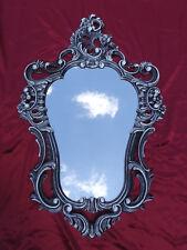 Baroque Mirror Wall Mirror Repro Antique Baroque IN Black White Dualcolor 50X76