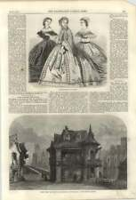 1861 Scene From The House In The Bridge Of Notre Dame At The Lyceum Theatre