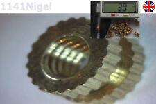 M3 x 3mm (L) - 5mm (OD) Metric Threaded Brass Knurl Round Insert Nuts