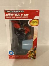 Transformers Optimus Prime Great Smile Toothbrush Holder Toothbrush Rinse Cup