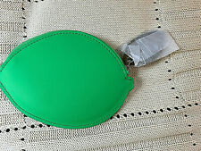 NEW Baggu Fruit Green Coin Pouch Purse Wallet bag ** Free Shipping****