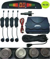 Car parking Reverse Sensors 4 Sensors  Buzzer Radar LED Display Champane NO13