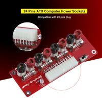 24 Pins ATX Benchtop Board Power Supply Circuit Adapter Module For Computer PC