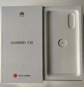 Genuine Huawei Empty P30 Box with Inserts User Guide and Sim Ejector