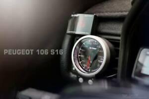 Air Vent Gauge Pod, 60mm or 52mm, Fits Peugeot 106