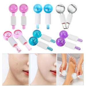 Facial Cooling ,Ice Globes, Energy Crystal Ball, Beauty Ball Massage Roller, for