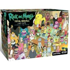 Total Rickall Rick and Morty Cooperative Card Game - Brand New!