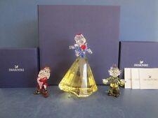 Swarovski Disney Snow white, Dopey & Grumpy.