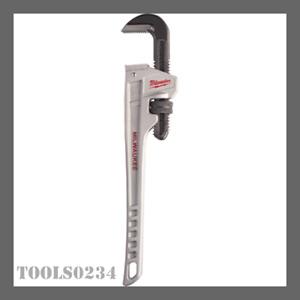 "Milwaukee Tools 48-22-7224 Aluminum Pipe Wrench - 24"" x 3"" (Jaw Capacity)"