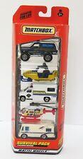 1999 Matchbox Survival 5-Pack New in Box Blazer Snowmobile Camper Truck Chopper