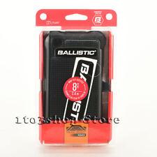 Ballistic MAXX Tough Jacket Hard Case w/Belt Clip Holster for LG X Power (Black)