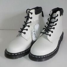 Dr Doc Martens 939 6 Eyelet Padded Collar Leather Boot Women Size 9 US/7 UK