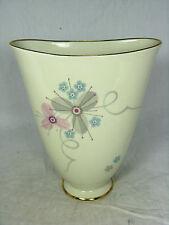 Well shaped 50´s design Jaeger & Co. porcelain Porzellan Vase 1034 17 cm