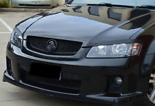 Holden VE Commodore Headlight Eyelids/Eyebrows GLOSS BLACK Series 1 2 SS SV6 HSV