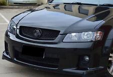 Holden VE Commodore Headlight Eyelids/Eyebrows GLOSS BLACK Series 1 2 SS SV6 HSV