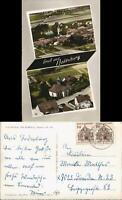 Ansichtskarte Bodenburg Luftbilder 2-Bild-Postkarte mit Luftaufnahmen 1965