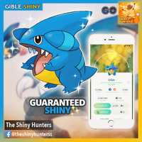 Pokémon GO - ✨ Shiny Gible✨  GUARANTEED CATCH - Powerful Garchomp!
