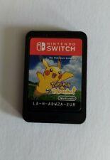 Pokemon: Let's Go Pikachu - Cart Only - Nintendo Switch