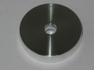"""7"""" Single Adaptor,45 Rpm Spindle Centre Aluminium,Middle Record Player"""