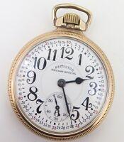 .1950 Hamilton 21 Jewel G/F OF Railroad Special 992B Pocket Watch