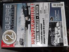 25 $$ Zeitschrift 2e Guerre Mondiale Nr. 81 Wunderwaffen / Riga / Silent Hunter