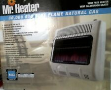 Mr. Heater Blue Flame 30,000 BTU Vent Free Natural Gas Heater MHVFB30NGBT